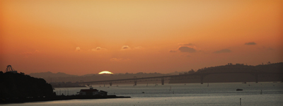 harbour bridge sunset2